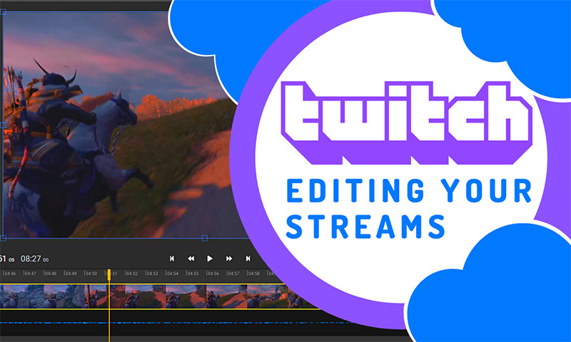 How to edit your Twitch streams without downloading them
